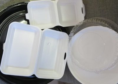 Polystryrene Packing Trays